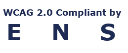 WCAG 2.0 Compliant by ENS logo